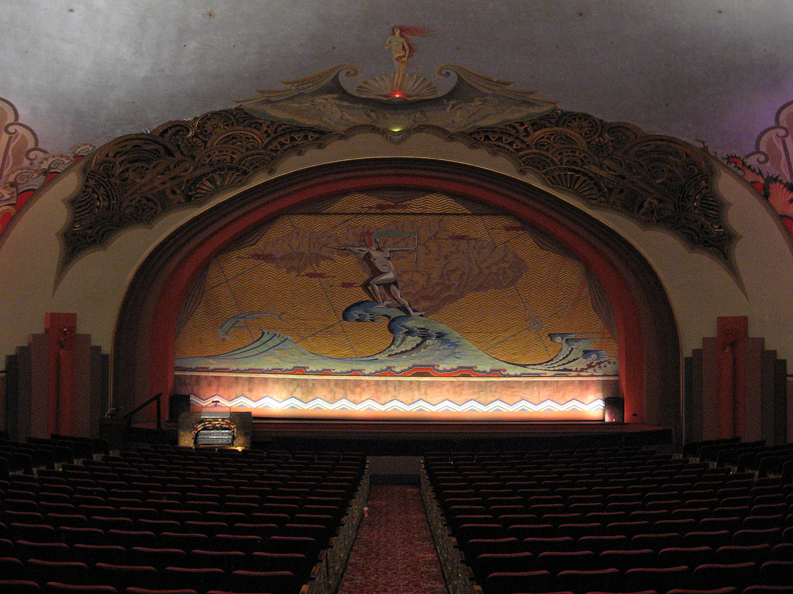 Avalon Theatre stage