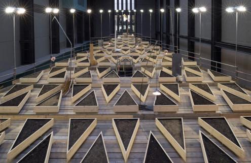 Abraham Cruzvillegas turns the Tate's Turbine Hall into an allotment