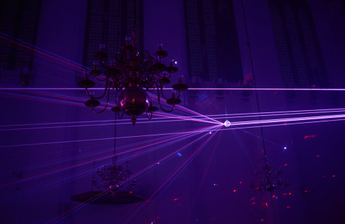 Chris Levine plays with our senses at The Danish Church in London