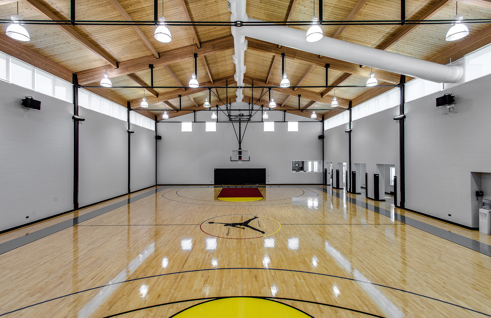 Michael Jordans Home Basketball Court