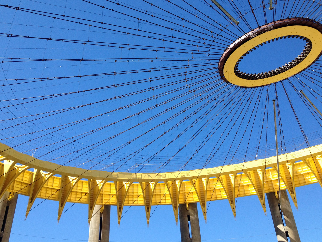 Philip Johnson's space age World's Fair pavilion is getting a refurb