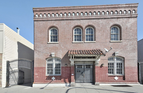 A converted police station in San Francisco is up for grabs