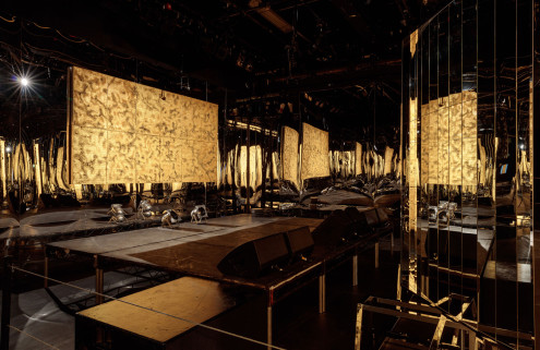 Zhang Ding turns the ICA theatre into a disco-era nightclub
