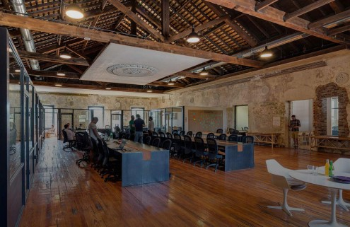 The co-working hubs re-energising our cities