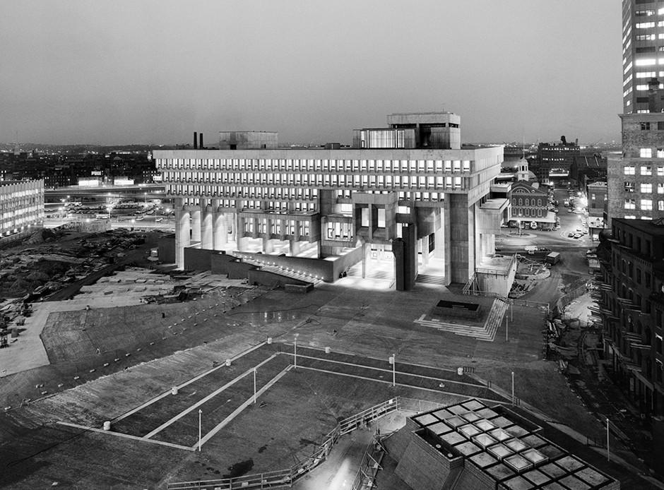 Boston City Hall. Photo: Ezra Stoller/The Monacelli Press