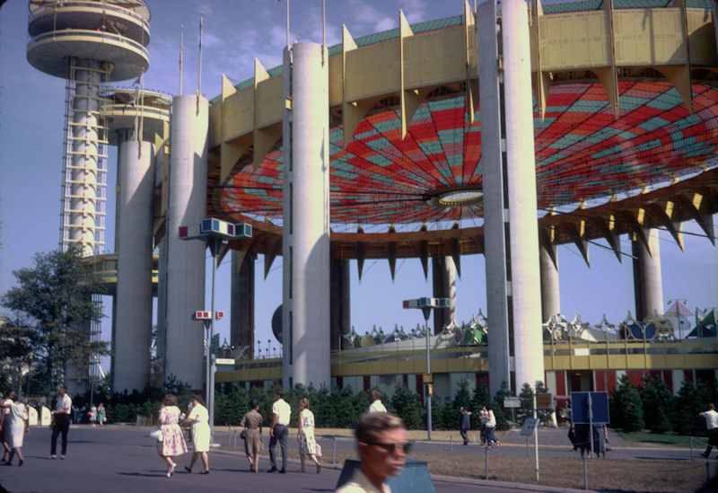 New York State Pavilion pictured in 1964