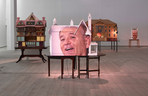 Bill Murray takes centre stage in artist Brian Griffiths' latest work