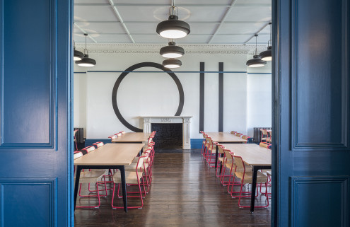 Buckley Gray Yeoman give Brighton school's Regency home a makeover