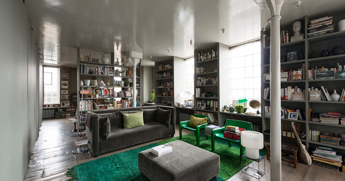 Ilse crawford puts her victorian warehouse conversion up for Crawford house