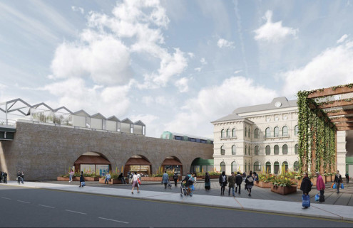 South London locals question Landolt + Brown's Peckham Rye station revamp