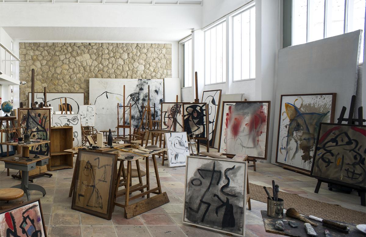 Miró's Son Abrines studio Photography: Jean Marie del Moral