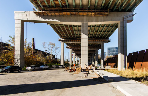 'Toronto's answer to the High Line' will be built below a highway