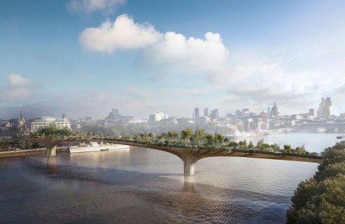 Last-ditch loan offers Garden Bridge a lifeline
