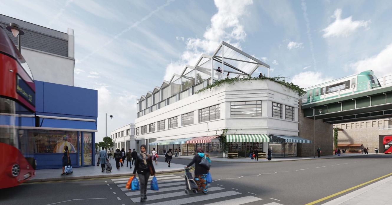 Peckham Rye station area revamp