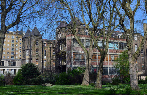 Co-working space to resuscitate derelict Camden hospital
