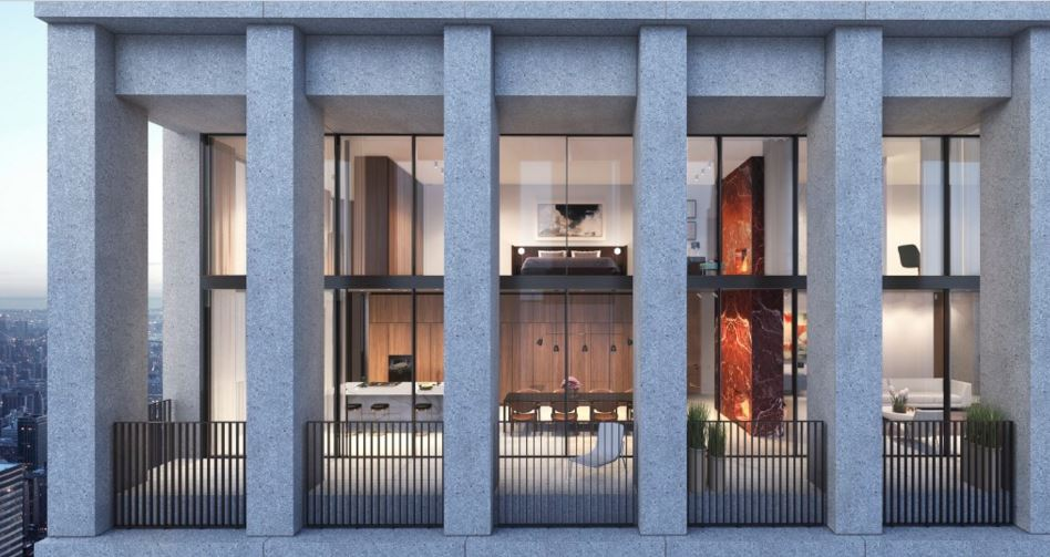 David chipperfield designed apartments at the bryant in for Buying an apartment in nyc