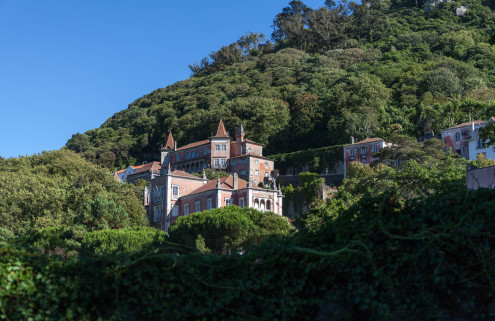 Property of the week: a cliffside manor house in Sintra, Portugal