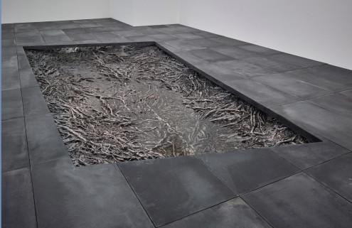 Cristina Iglesias makes a splash at Marian Goodman's Soho gallery