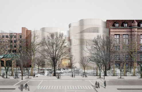American Museum of Natural History reveals designs for curvaceous extension
