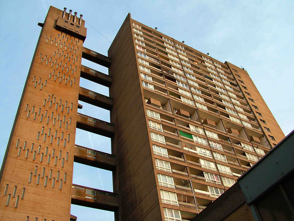 Erno Goldfinger S Balfron Tower Will Be Turned Into Private Flats The Spaces