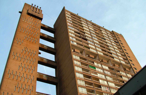 Erno Goldfinger's Balfron Tower will be turned into private flats