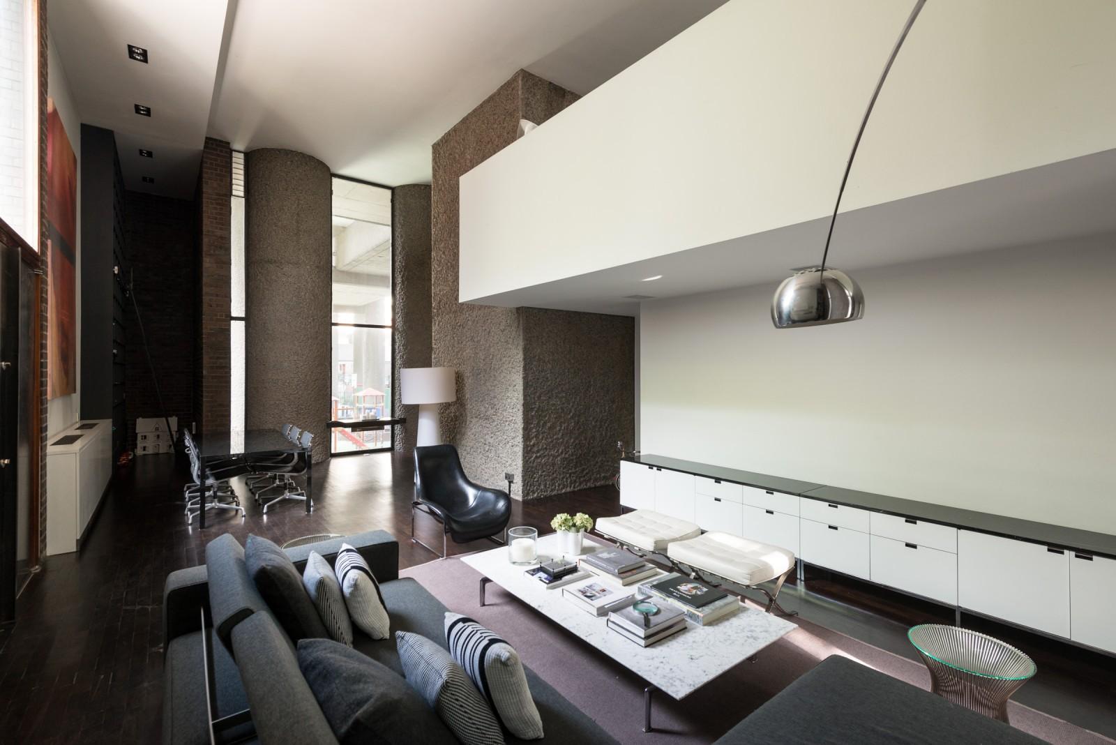 Barbican Estate Office conversion home 12