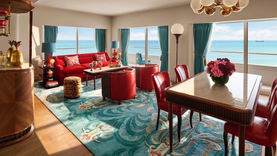 The Living Room Miami Faena