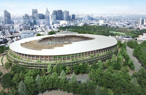 Kengo Kuma and Toyo Ito vie to design Tokyo Olympic Stadium