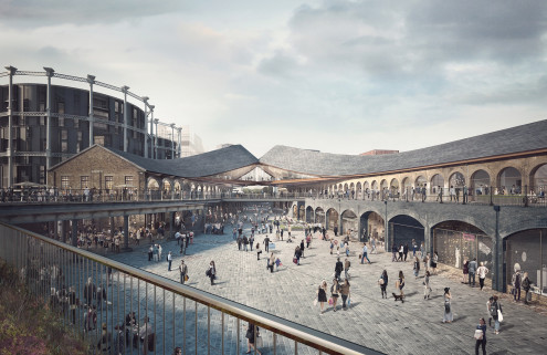 Heatherwick's shopping quarter gets the green light at King's Cross