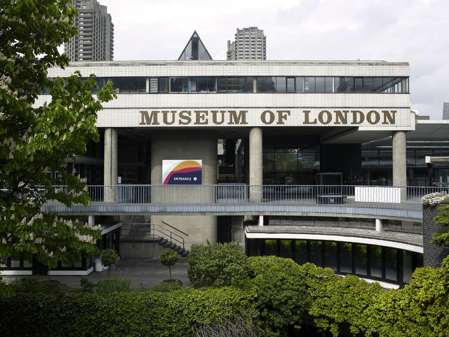 Museum of London's Barbican home