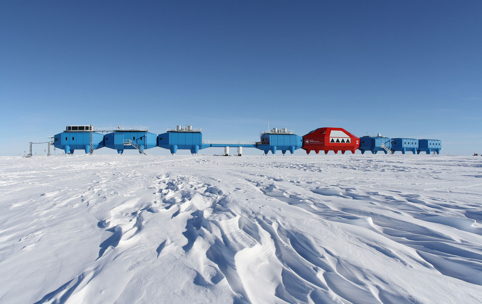 Prefab Antarctic research station