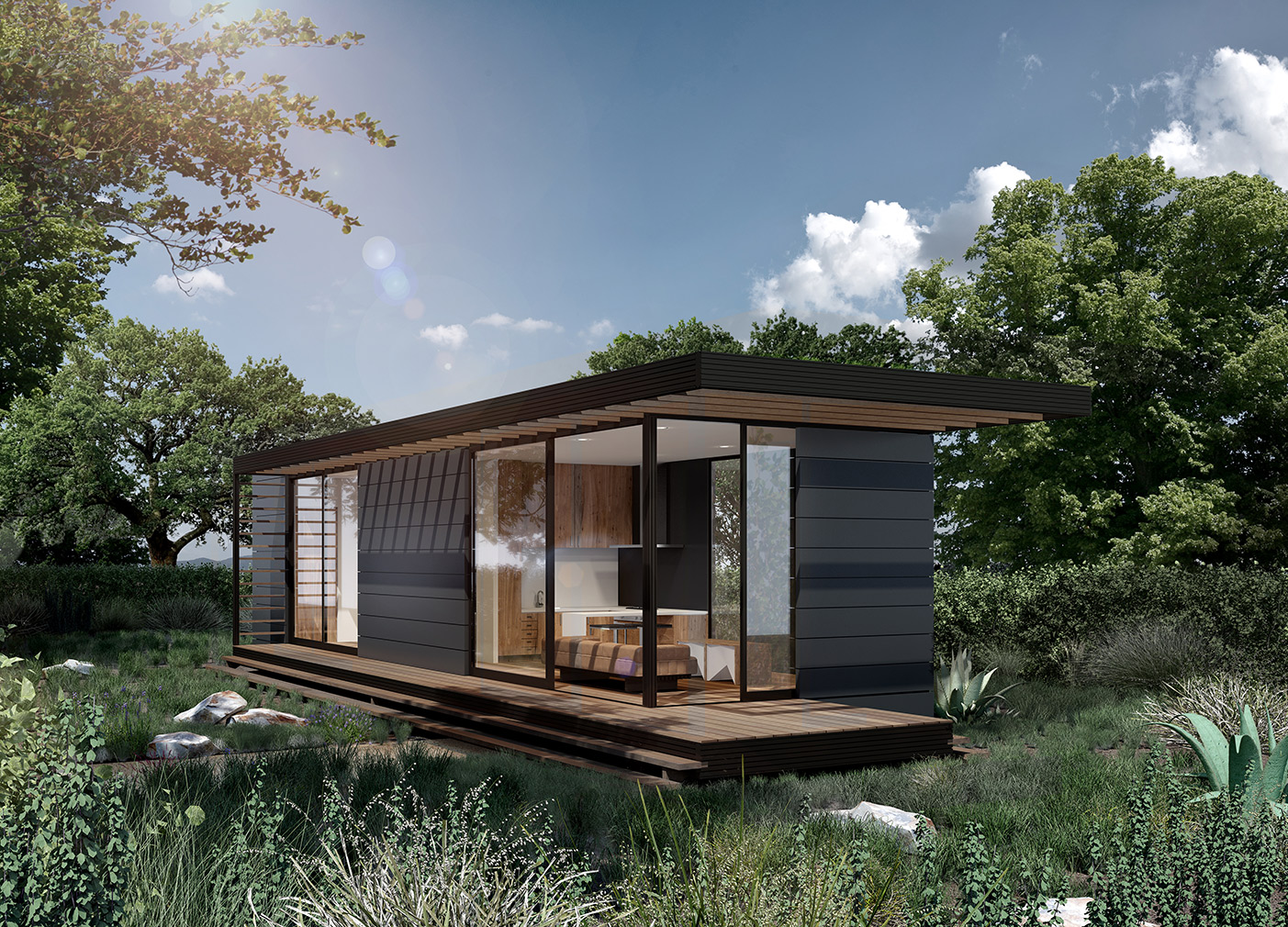 Canopy For Bedroom Revolution Precrafted Properties Turn Tiny Homes Into