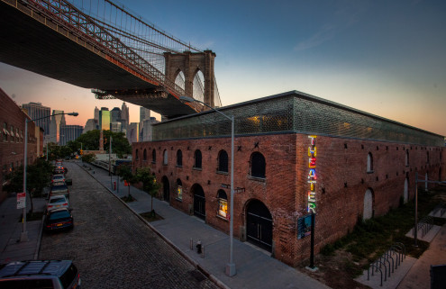 St Ann's Warehouse in Brooklyn