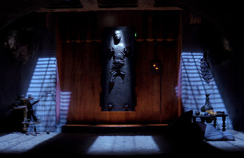 Jabba the Hutt's lair