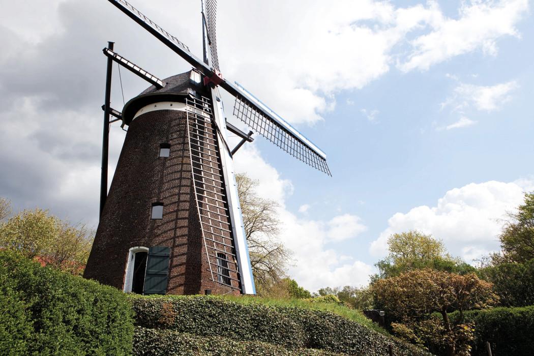 Inside The Windmill Home Of Belgian Architect Lou Jansen