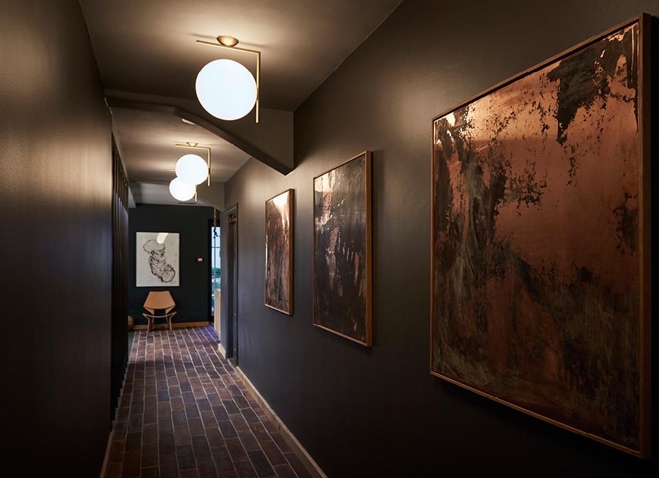 hallway Kadeau restaurant