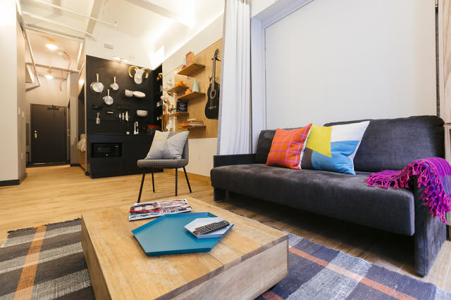 WeWork's WeLive apartment. Courtesy of WeWork