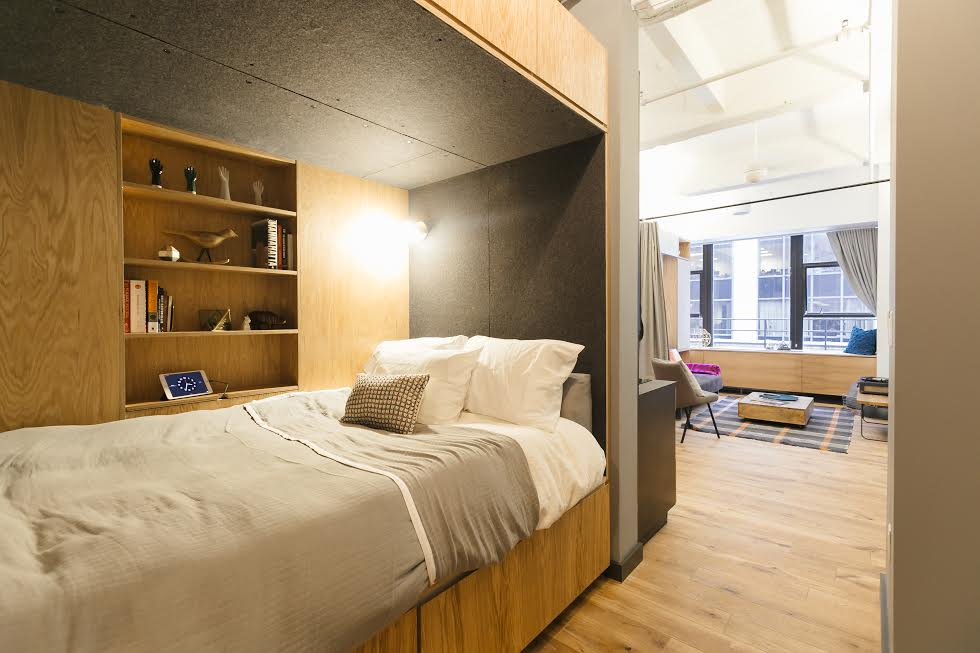 WeLive apartment by WeWork