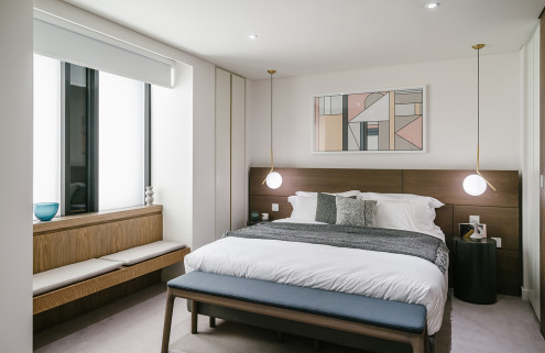 First show apartment for Barbican's Blake Tower revealed
