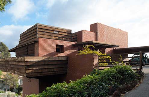 Frank Lloyd Wright's George D Sturges house to go under the hammer