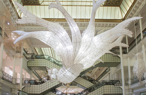 Ai Weiwei creates a Chinese fairytale inside Paris' Le Bon Marché