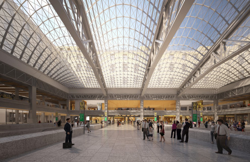 New York's 'miserable' Penn Station is finally getting a revamp