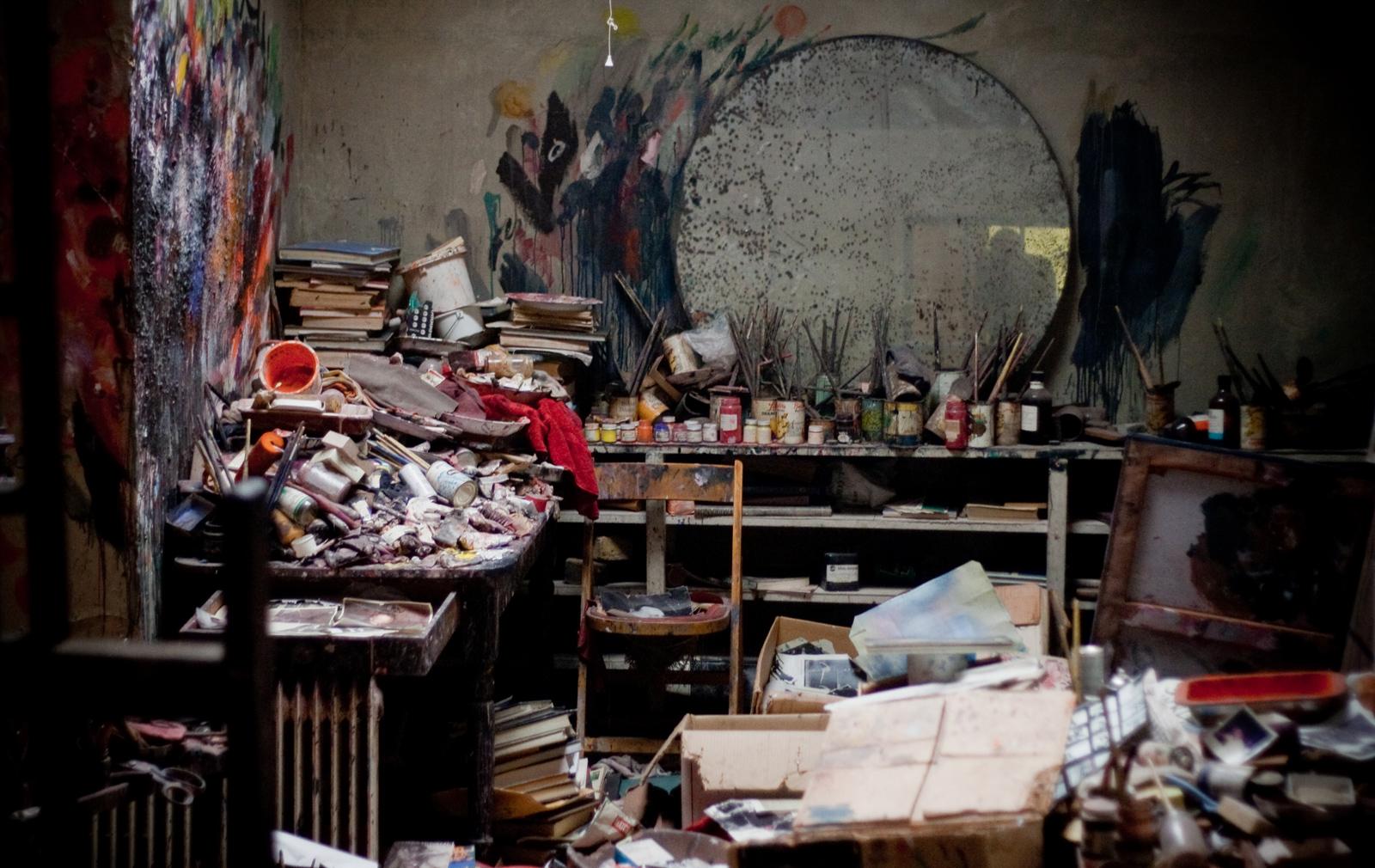Francis Bacon's studio at Hugh Lane Gallery