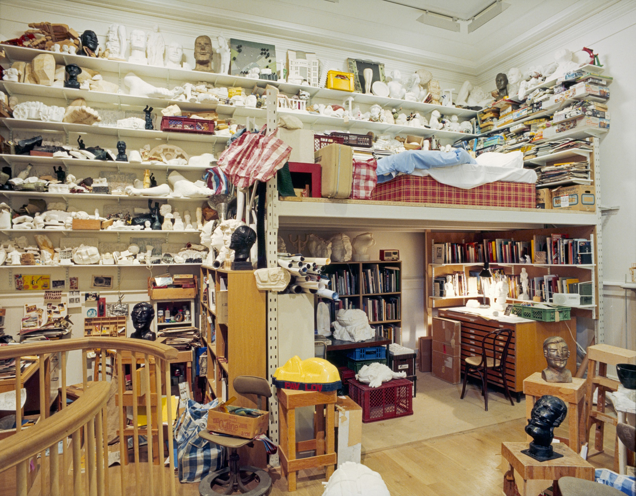 Paolozzi's studio at Scottish National Gallery of Modern Art