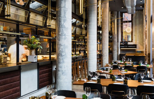 Neri & Hu design Jason Atherton's first Sydney restaurant