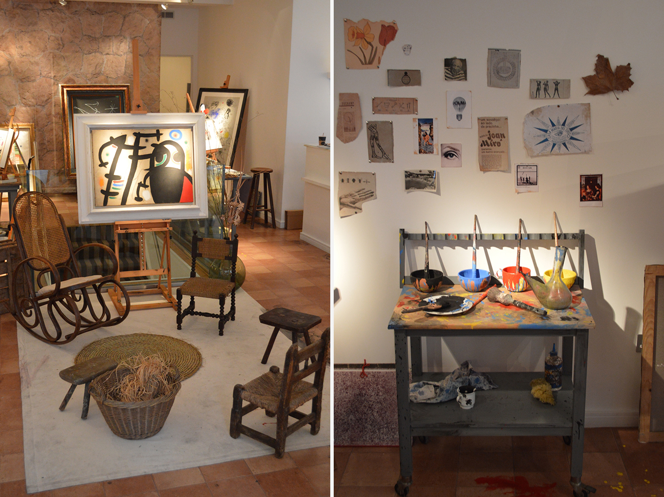 Joan Miró\'s art studio comes to London - The Spaces