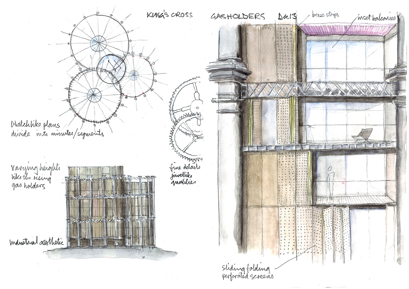 Kings-cross-gasholders-wilkinson-eyre-sketch
