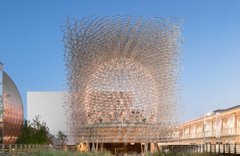 Wolfgang Buttress' Milan Expo pavilion will move to Kew Gardens with a new soundtrack