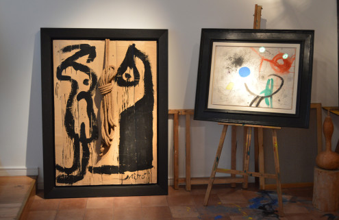 Joan Miró's art studio comes to London