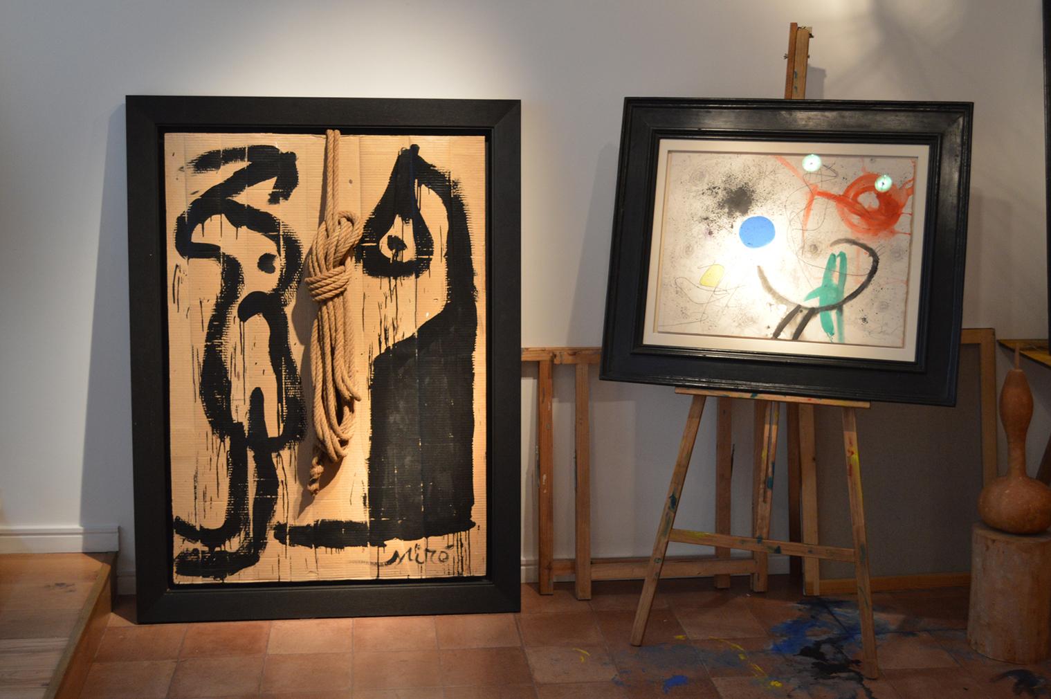 Miró's studio, Mayoral at 6 Duke Street St James's, London, 21 January – 12 February 2016